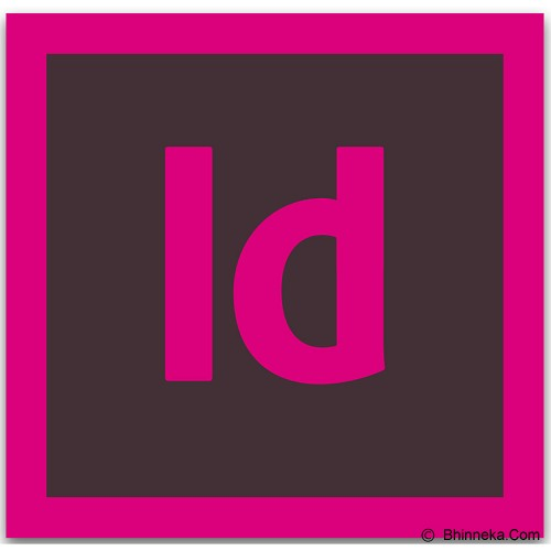 ADOBE InDesign Creative Cloud - 1 Year - Software Photo Editing Licensing